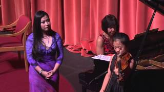 Meet the Artist - Sarah Chang - Violinist - October 2013