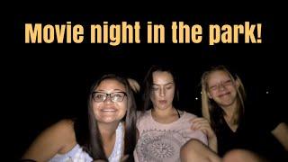 movie in the park vlog 3