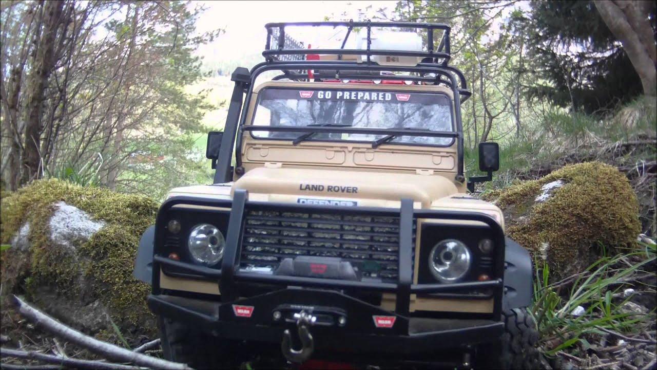 RC4WD Land Rover Defender 90 Rock Stompers Safari