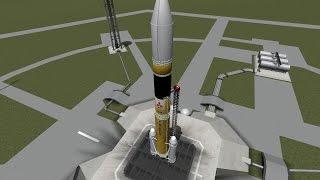 KSPでJAXAと「はやぶさ2」同時打ち上げ