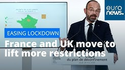 Reopening Europe: France and UK move to ease more lockdown restrictions