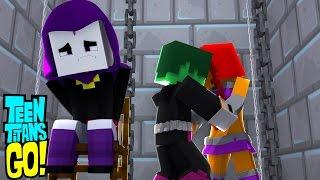 Minecraft: OS JOVENS TITÃS EM AÇÃO! #12 - SEGUNDO BEIJO DO ROBIN E DA ESTELAR/RAVENA SEQUESTRADA!