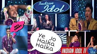 Sunny Indian idol 2019 Ye Jo Halka Halka Suroor Hai Neha Kakkar Nusrat Saab Sunny Hindustani