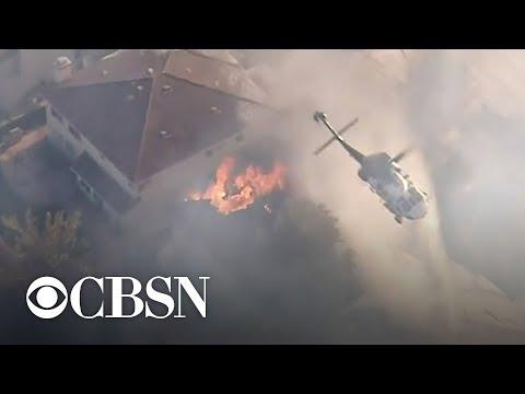 Santa Ana Winds Increase Fire Risk In Southern California