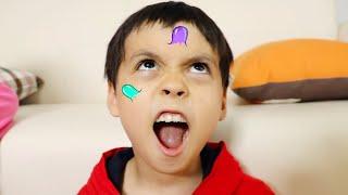 으악!!! 내 얼굴에 여드름이 생겼어요. Mashu funny kids story about big pimple - 마슈토이 Mashu ToysReview