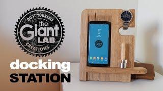 Docking Station in legno // Wooden Docking Station