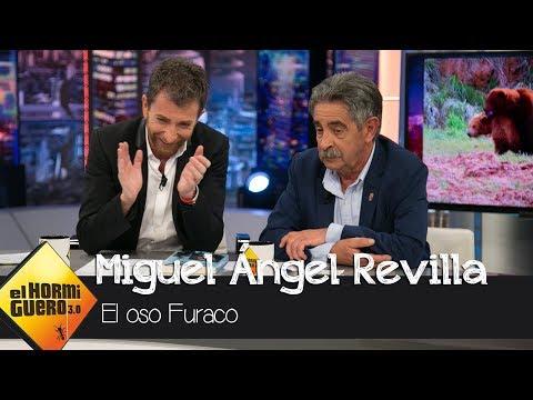 """Miguel Ángel Revilla habla del famoso oso Furaco: """"El problema eran ellas"""" - El Hormiguero 3.0"""