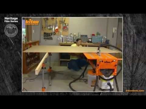 Ripping Wide Pieces With Triton Workcentre - Triton Heritage
