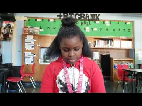 all i ask poem reading by fourth graders @ Hazelwood Elementary Middle School