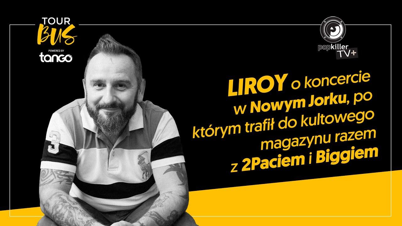 Liroy, 2Pac i Biggie w jednym magazynie? Kulisy szalonego koncertu w NY (Tourbus S02E014)