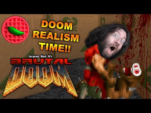 REALISTIC RIPPING & TEARING! -- Brutal Doom v21 Public Beta Realism