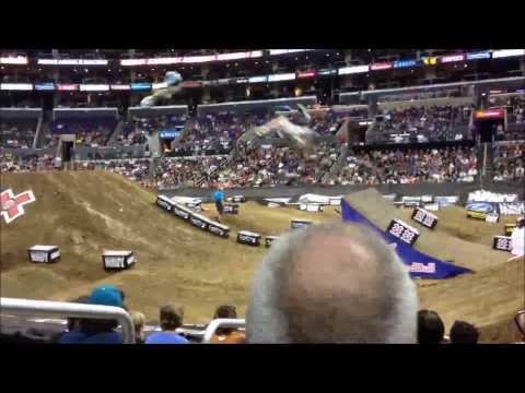 X Games Los Angeles Moto x racing