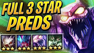 Full 3 STAR Predator Team DOMINATION! | Teamfight Tactics Set 2 | TFT | League of Legends Auto Chess
