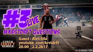 #KRSTDRFT Questions Live #3 Aleš Síla