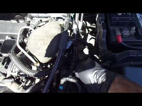 2012 Ford Focus S.E / Cleaning and Inspecting PCV system hose