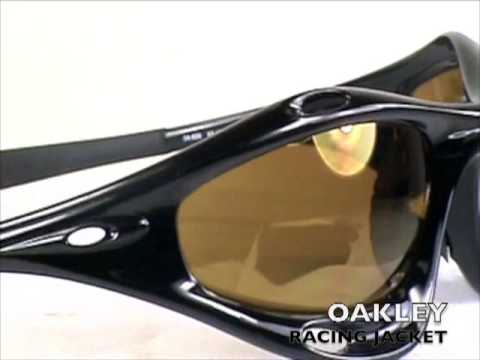 1a6ff7714342f Oakley Racing Jacket sunglasses - YouTube