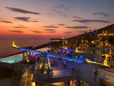 Pathos Sunset Lounge 2018 by night [extended], Ios Island, Greece
