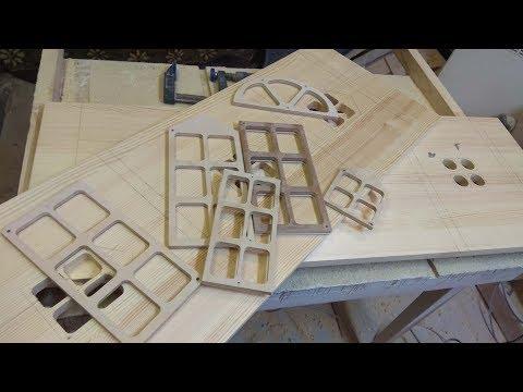 Фрезерование по шаблону ручным фрезером 2 . Шаблоны/Pattern Milling 2.Templates