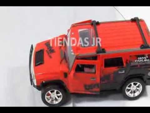 Carro Abre Puertas Hummer Control Remoto Bateria Recargable Juguete