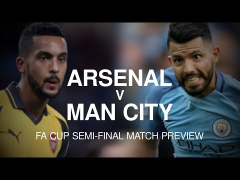 Arsenal v Manchester City - FA Cup Semi-Final Match Preview