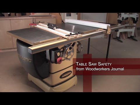 Woodworking Up To Date Table Saw Safety And Proper Pu Doovi