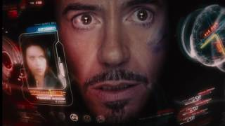 All Iron Man HUD Scenes (up to Civil War)