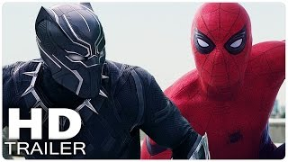 CAPTAIN AMERICA 3 CIVIL WAR All Trailer + Clips + Making Of | Marvel Movies 2016