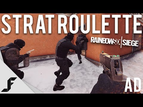 STRAT ROULETTE - Rainbow Six Siege (Predator Helios 300 Gaming Laptop)