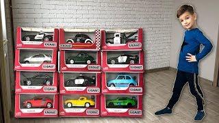 Новые волшебные машинки. Много новых игрушек из одной. Видео для детей.