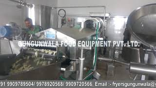 Fully Automatic Pellet Frying Lin with Wooden Boiler