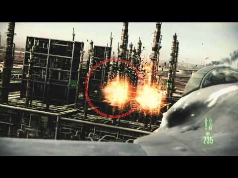 Ace Combat Assault Horizon - Official E3 2011 trailer