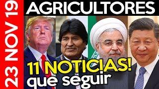 ESPECIAL NOTICIAS VIERNES: Recesión, Evo Morales, Economía China, BM, Trump, Paro Colombia, Bitcoin