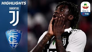 Juventus 1-0 Empoli | Kean nets winning goal for Juve | Serie A