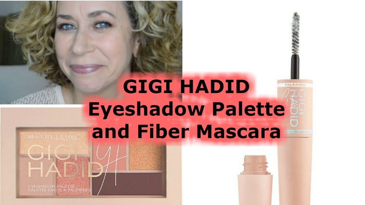 63b7a5fe597 Gigi Hadid Eyeshadow Palette and Fiber Mascara - REVIEW - YouTube