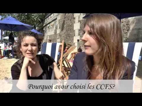 Portrait d'une étudiante aux CCF de la Sorbonne