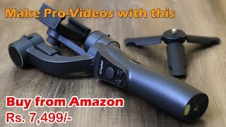 Digitek DSG 005 3 Axis Handheld Steady Gimbal, unboxing, features, samples, price Rs. 7,499
