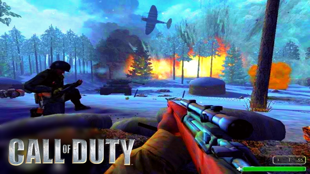 CALL OF DUTY 1 IN 2019! (Multiplayer Gameplay)