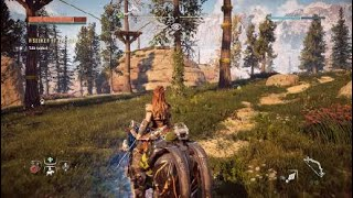 Horizon Zero Dawn™: Comṗlete Edition how to tame ride and hunt on a mechorse