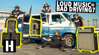 Does LOUD Music Make You Drive Worse??
