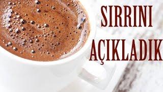 Gambar cover Bol Köpüklü Türk Kahvesi nasıl yapılır ? Sırrını Açıklıyoruz !