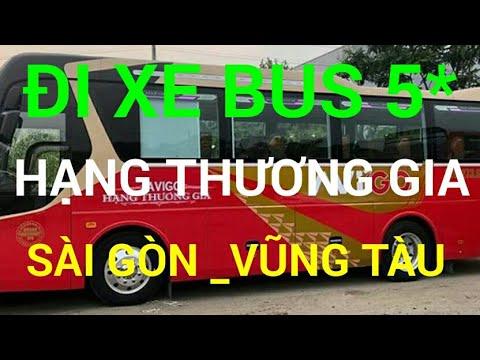 Du lịch Vũng Tàu _ cùng Việt Youtube đi bus 5 sao Sài Gòn -Vũng Tàu