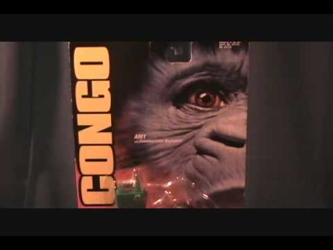 Congo Movie Amy the Talking Gorilla figure review
