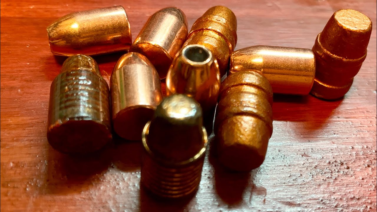 Introduction to reloading. Whats the best bullets to use???