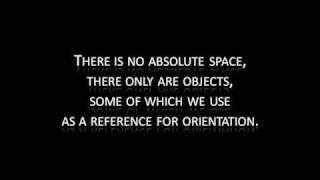 why (outer) space is not empty...