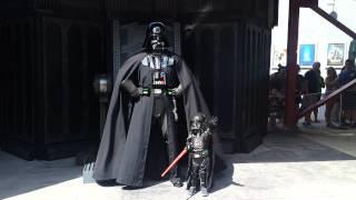 Darth Vader meets Baby Darth Vader