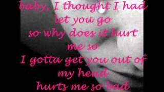 whitney houston why does it hurt so bad.wmv