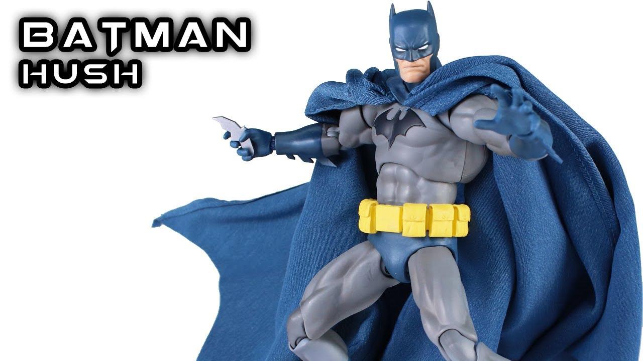 Mafex Batman Hush Dc Action Figure Review Youtube