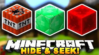 Minecraft HIDE & SEEK #3 (Funny Minigame) - w/ Preston & Lachlan