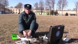 В Крыму МЧС России тестирует квадрокоптер(, 2016-02-09T14:56:40.000Z)