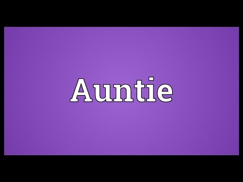 Auntie Meaning thumbnail